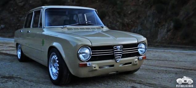 The Magic Of Old Boxy Alfa Romeos