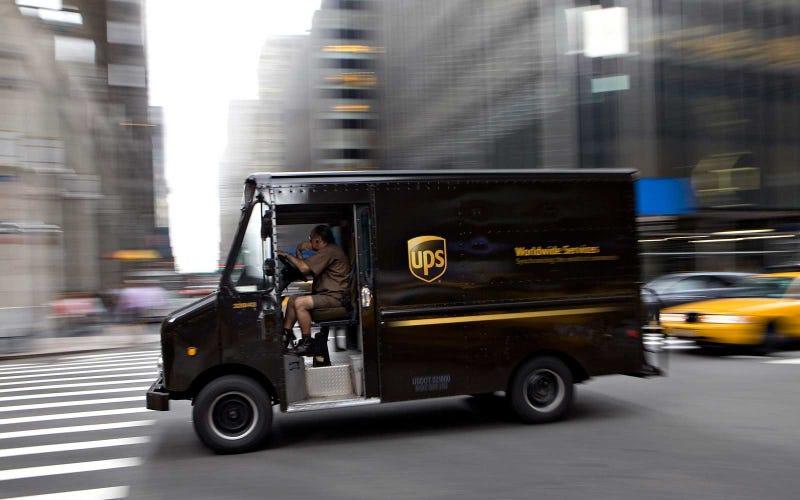 UPS pierde un paquete con casi US$700 mil de una herencia