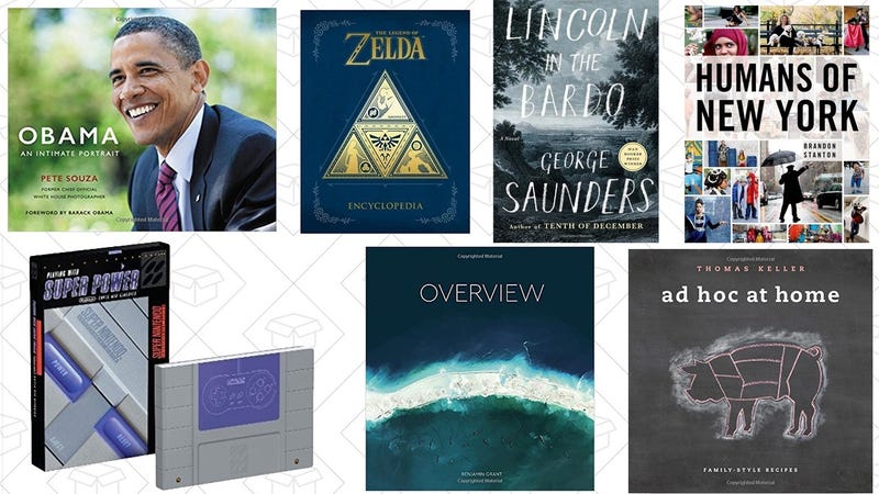 $5 off book purchases over $15 with code BOOKGIFT17