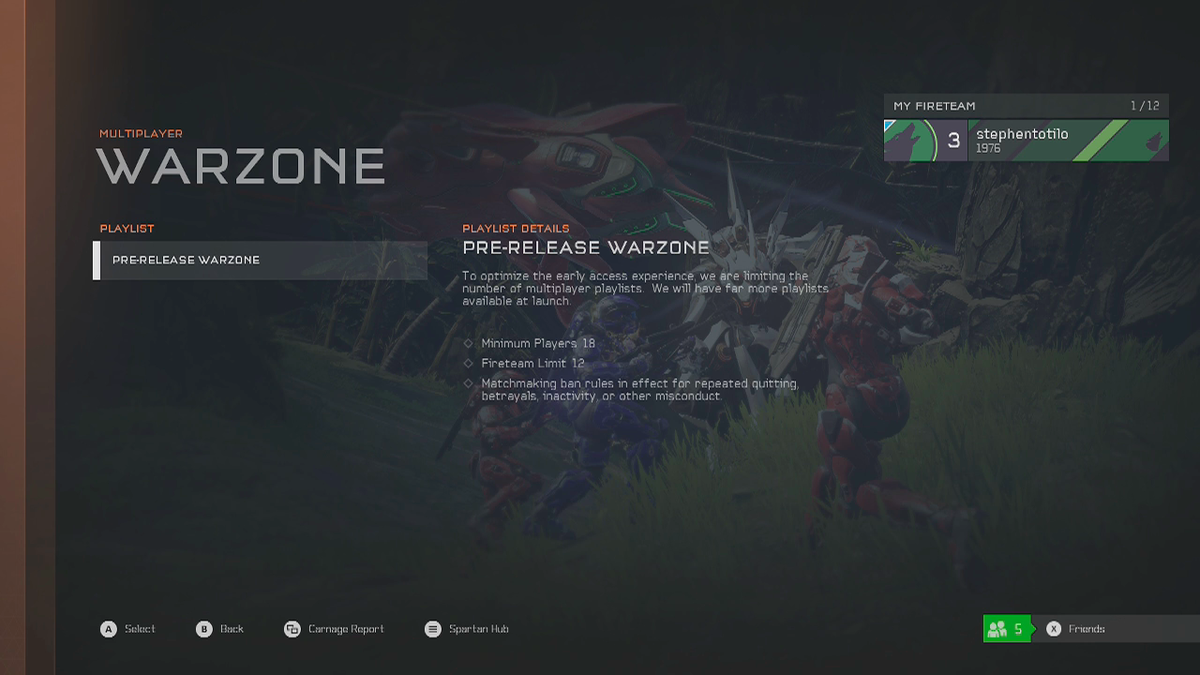 halo 5 campaign co op matchmaking