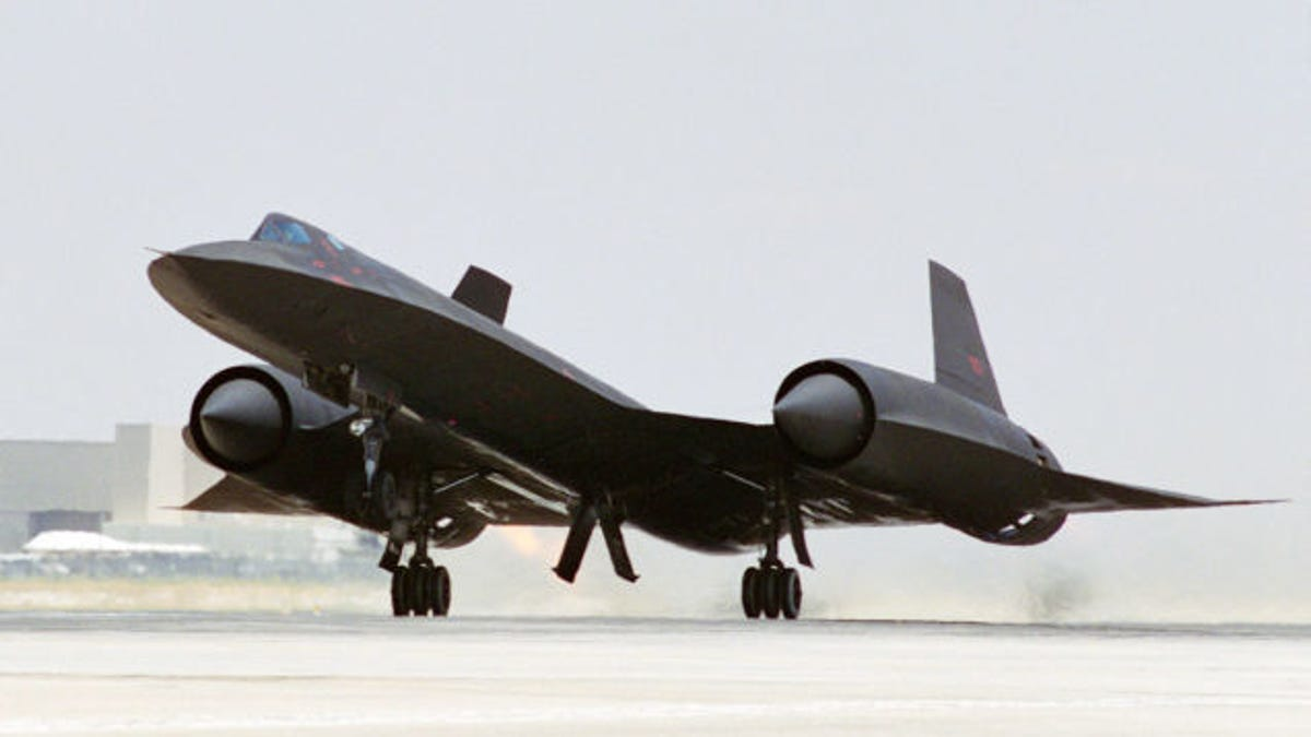 The secret engine technology that made the SR-71 the fastest