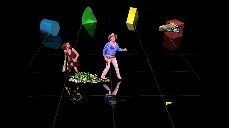 Sega's Holographic Arcade Game Was Pretty Strange