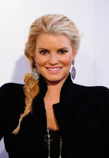 """Illustration for article titled Jessica Simpson Insists She's """"Extremely Happy"""" For Nick Lachey"""