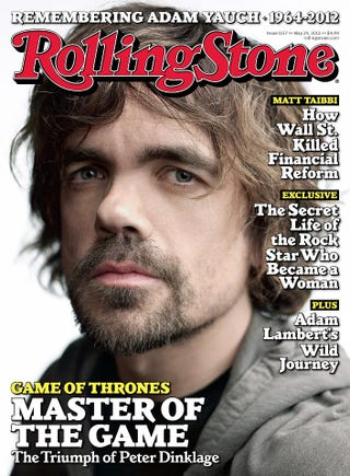 Illustration for article titled Rolling Stone crowns Peter Dinklage our new rock star