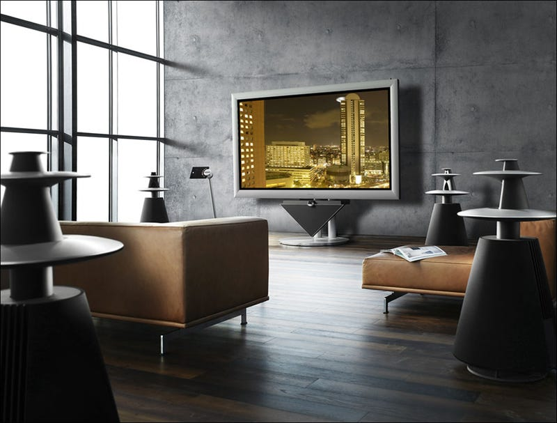 Illustration for article titled Bang & Olufsen's 4-103 BeoVision Plasma Is Huge and Self Calibrating