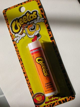 Illustration for article titled Cheetos Lip Balm Can Restore My Lips and My Manhood at the Same Time