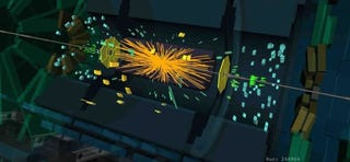 El LHC envía sus primeros datos de colisiones a energía récord de 13 TeV
