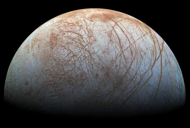 Europa. (Imagen: NASA)
