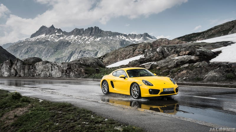 Illustration for article titled The Most Gorgeous Photos Of A Porsche Cayman You Will Ever See