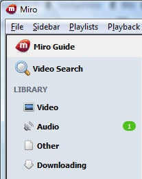 Illustration for article titled Miro 2.5 Gets New Audio Podcast Section, Improved Launch Speeds