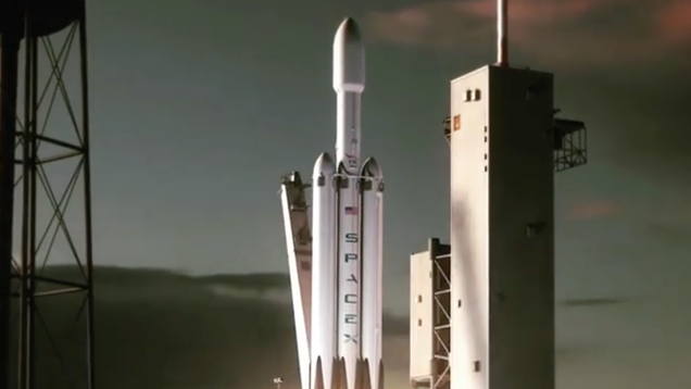 Cool Guy Elon Musk Casually Drops New Animation of World s Most Powerful Rocket