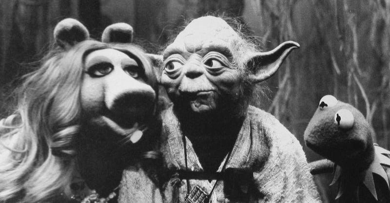 Illustration for article titled Las fotos perdidas del día en que Los Muppets visitaron Star Wars