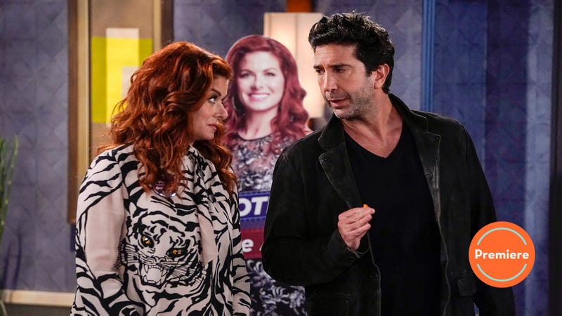 Illustration for article titled Even David Schwimmer'santi-Ross can't saveWill & Grace's season premiere