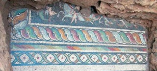 Illustration for article titled This Stunning Mosaic Was Just Uncovered In Greece
