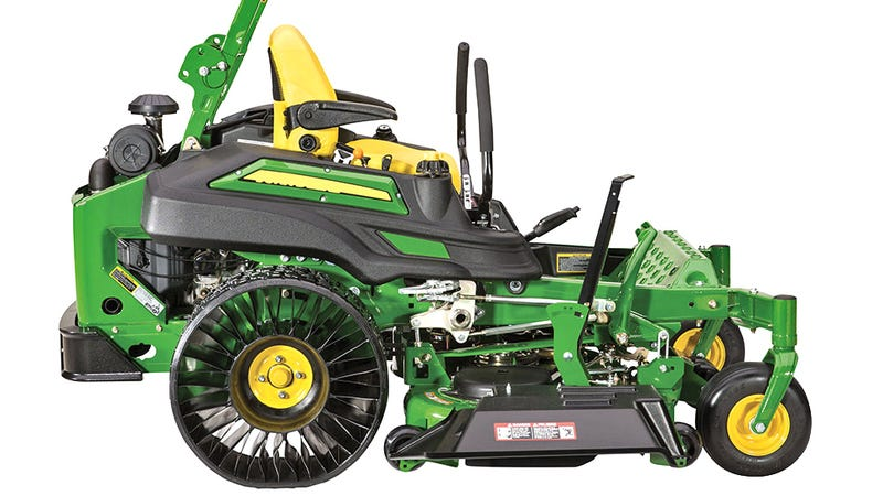 John Deere S New Ride On Mower Is One Of The First To Have