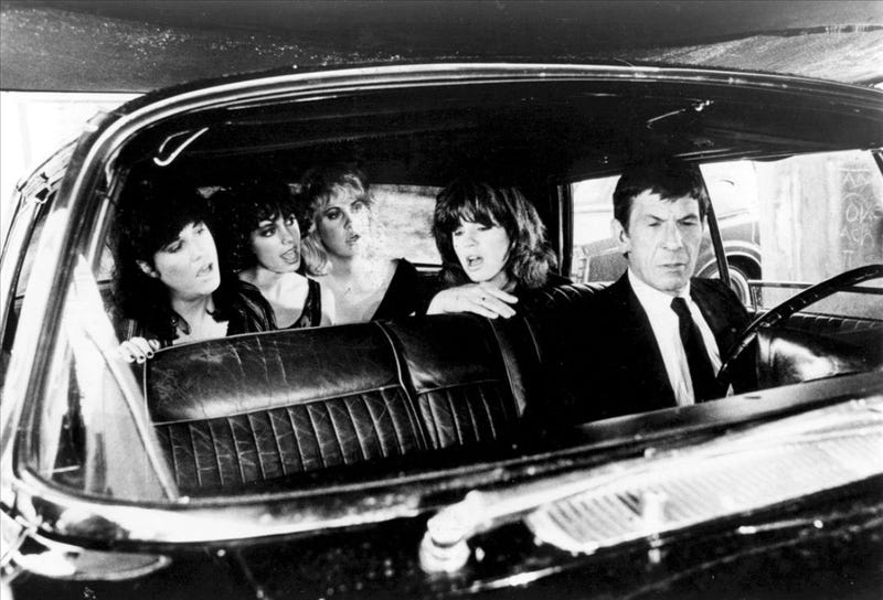 Illustration for article titled When Leonard Nimoy Chauffeured The Bangles