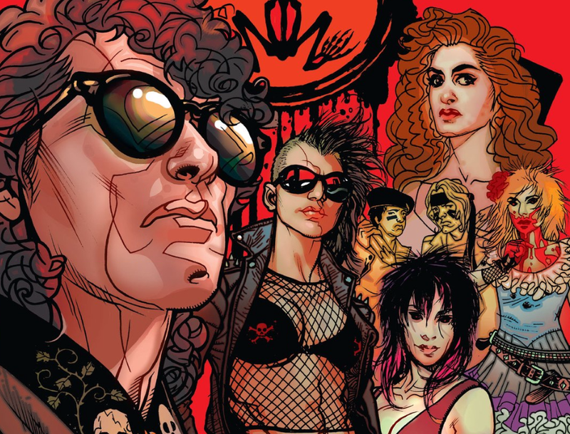 Illustration for article titled The First Issue of the Lost Boys Comic Book Has 2016's Best Variant Cover