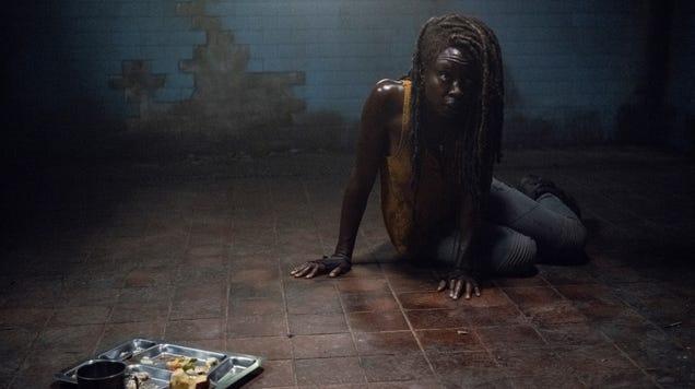 On The Walking Dead, Michonne Takes an Acid Trip Down Memory Lane