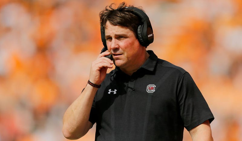 """Illustration for article titled Asshole Will Muschamp Blames Alarming Maryland Football Report On """"Gutless"""" Former Coaches And Lousy Players"""
