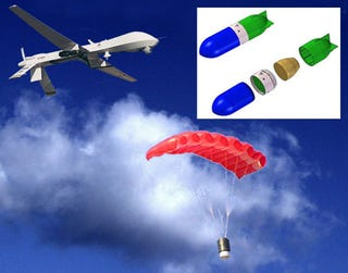 Illustration for article titled Stara Technologies Mini-Missile Precisely Guides Payloads to Targets