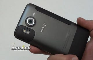 Illustration for article titled Leaked HTC Desire HD Video Shows Larger Screen and Dual-Flash