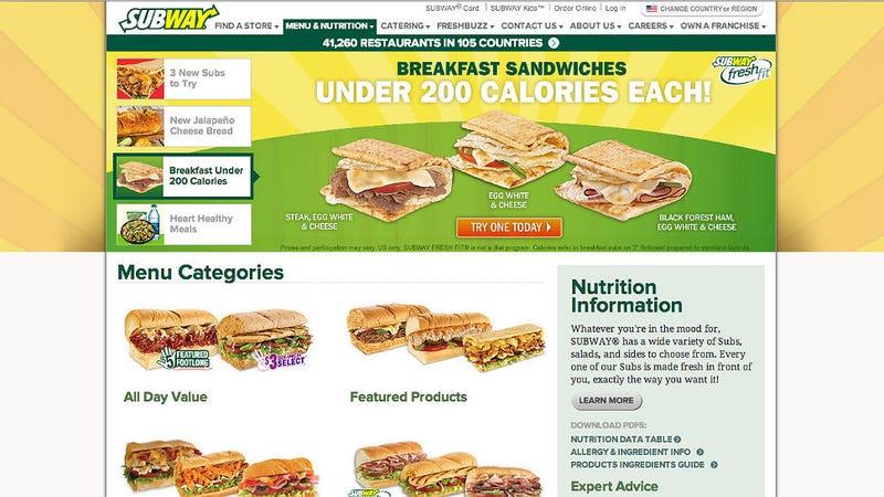 Good Food Babe Subway