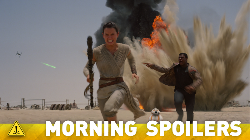 Illustration for article titled A Force Awakens Star Hints At A Huge Secret. Plus The NEXT Mad Max!