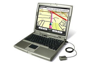 Illustration for article titled Garmin Mobile PC and GPS 20x Dongle Turns Your Laptop into a Garmin GPS