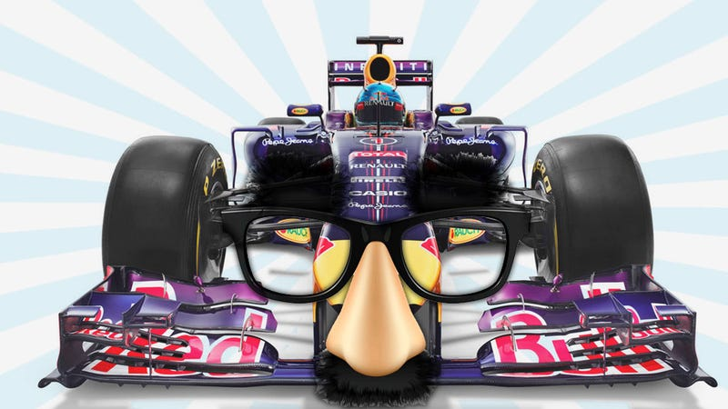 Illustration for article titled Your Definitive Chart Of All The New F1 Noses And What They Look Like