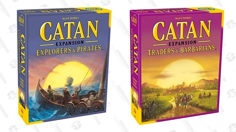 Catan: Traders and Barbarians | $38 | Amazon | After $2 off couponCatan: Explorers and Pirates Expansion | $37 | Amazon | After $1 off coupon