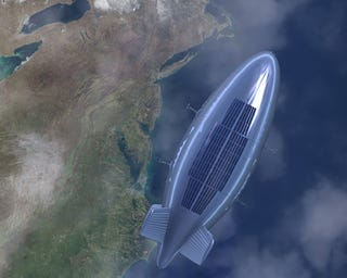 Illustration for article titled Global Blimp Network Will Deliver Our Goods by 2020