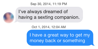 Illustration for article titled Using iOS 8's QuickType on Tinder Will Not Get You Laid