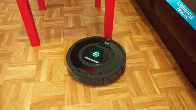 Illustration for article titled Roomba 770: It Might Be Time to Sell Your Vacuum, Grandpa