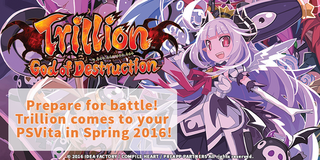 Illustration for article titled Trillion: God of Destruction Coming to the West For PSVita in Spring 2016
