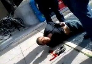 D.C. police slam wheelchair-bound man to the ground. (NewsOne)