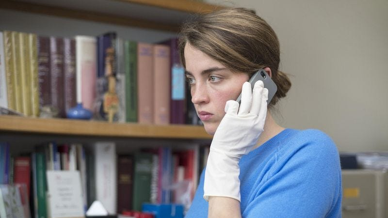 Adèle Haenel in The Unknown Girl