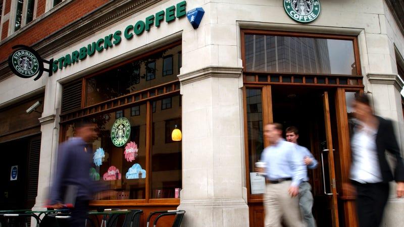 Starbucks in London