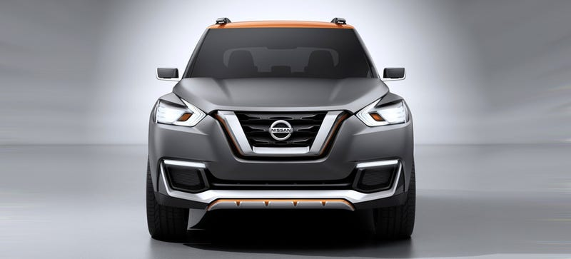 Illustration for article titled Nissan Kicks Is The Next Nutty Looking Little Crossover