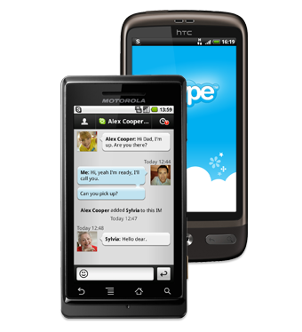 Illustration for article titled Skype Now Available for Android Phones