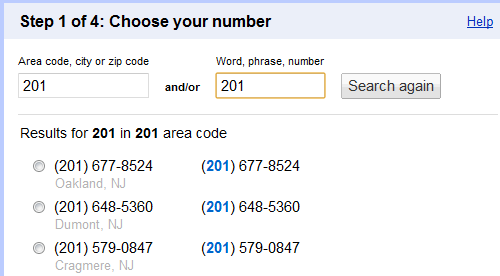 Use a Google Voice Number from Outside the US