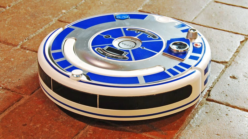 Illustration for article titled Turn Your Roomba Into the Star Wars Droid You Already Pretend It Is