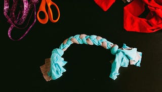 Turn Old Shirts into a DIY Dog Toy