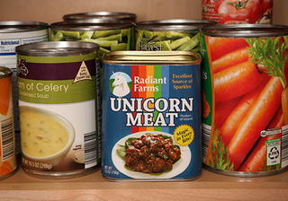 Illustration for article titled Canned Unicorn Meat: It's Real Now