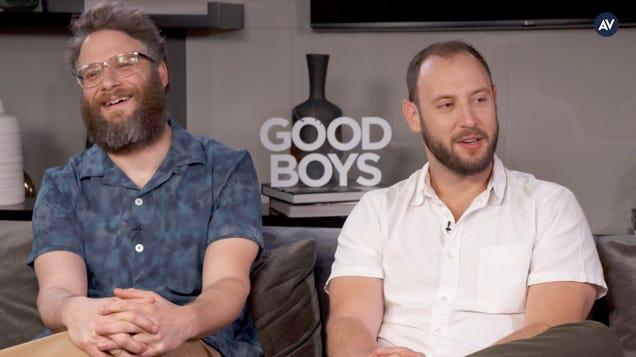 """Seth Rogen and Evan Goldberg on Good Boys and their """"Undie Hundie"""" rule"""