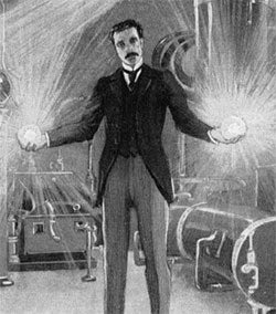 Illustration for article titled Scientists Beam Electricity Through Air