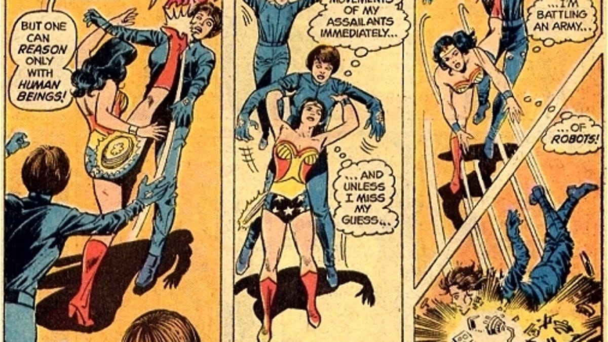 Wonder Woman became the feminist hero the '70s needed