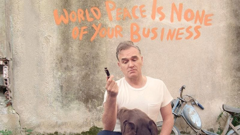 Illustration for article titled Morrissey posted another very Morrissey-like diatribe about his record label drama
