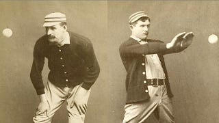 Illustration for article titled The awesomely weird art of 1800s baseball photography