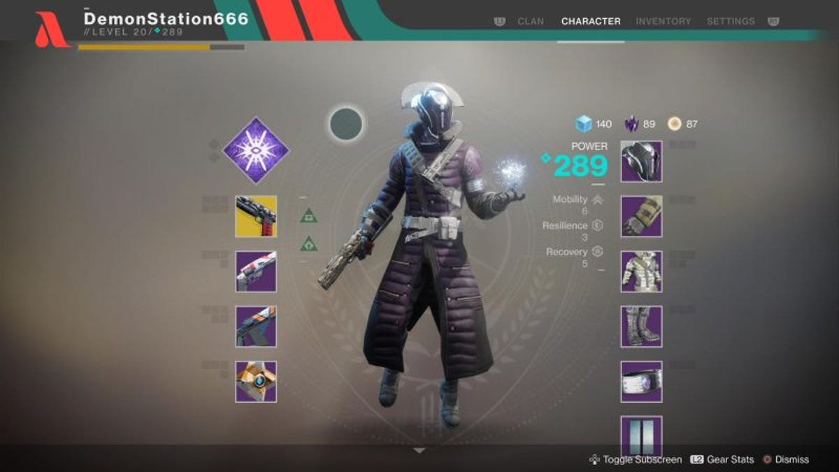 Your Destiny 2 Fashion Choices, Reviewed