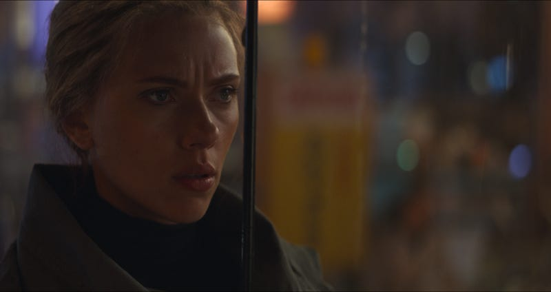 """Illustration for article titled Scarlett Johansson says she """"should be allowed to play any person, tree, or animal"""""""
